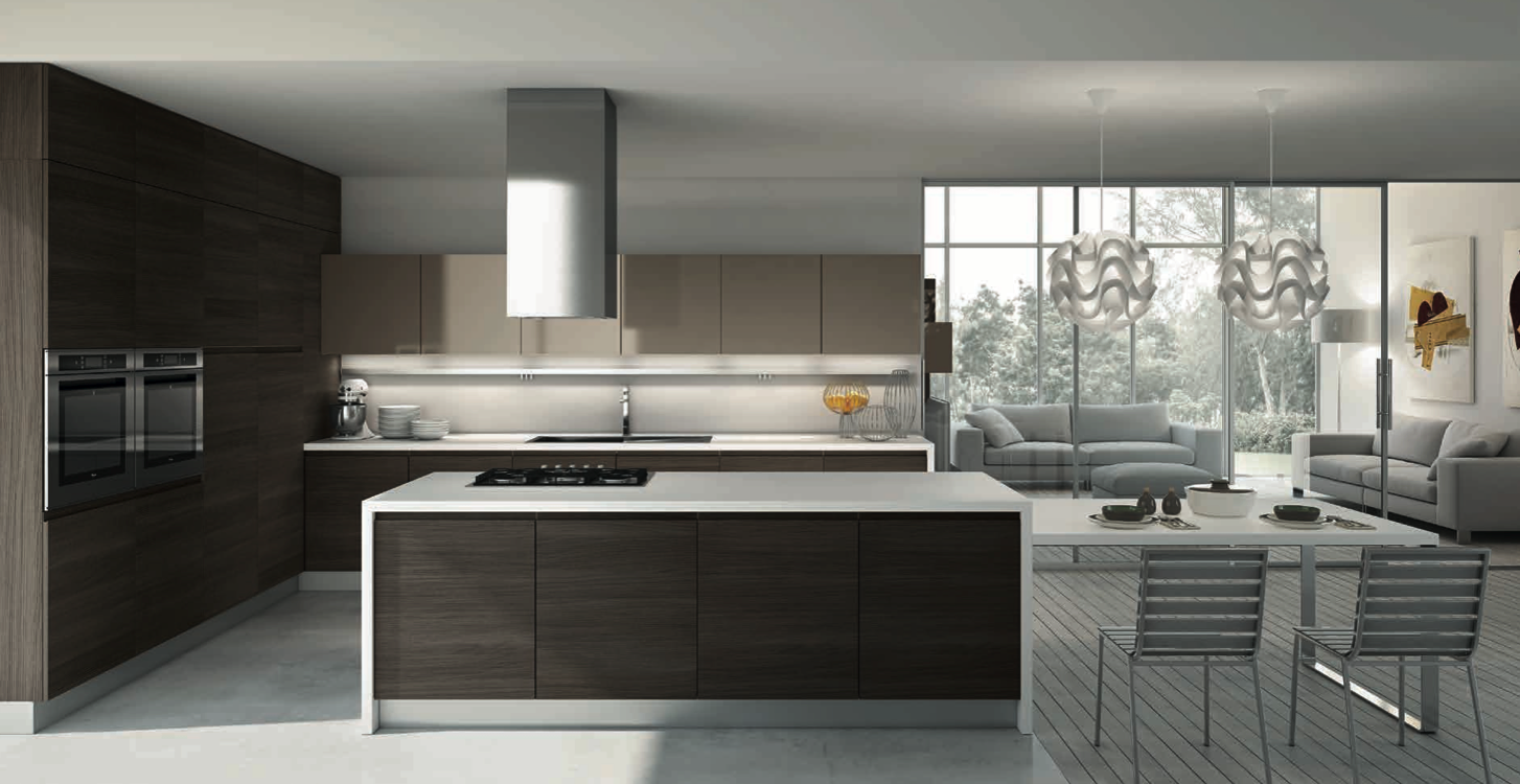 Cucine moderne arredamento cucine moderne delca - Cucine udine vendita ...