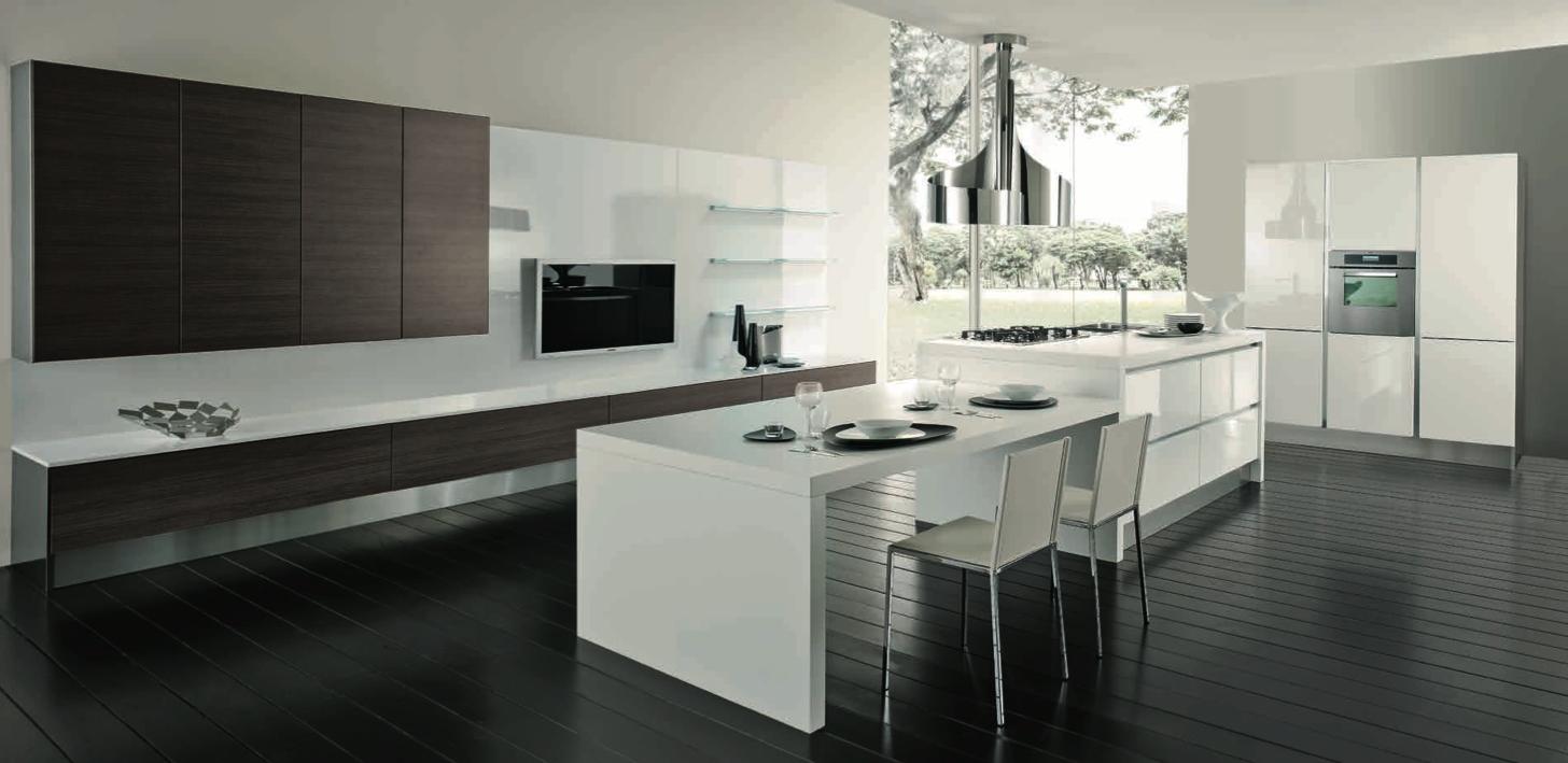 mosaico cucina moderna : Cucina Moderna Fly : CUCINA MODERNA FLASH ANTA POLIMERICO DOGATA CON ...