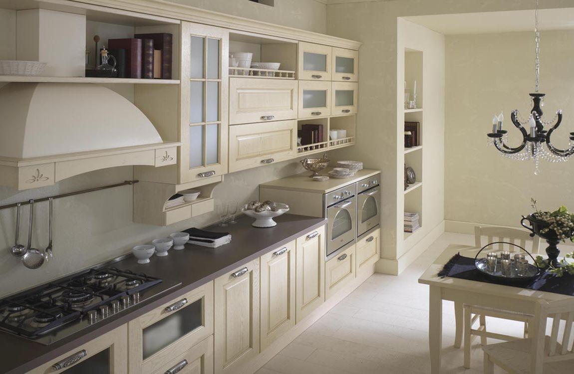 Cucine classiche - Cucina senza maniglie ...