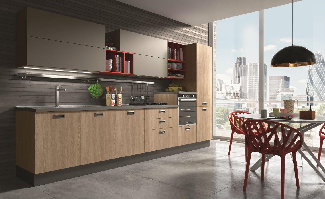 Composizioni Di Cucine Moderne.Cucina Moderna Love