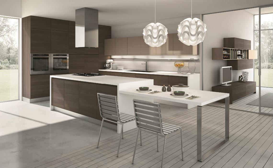 Cucina moderna Flash