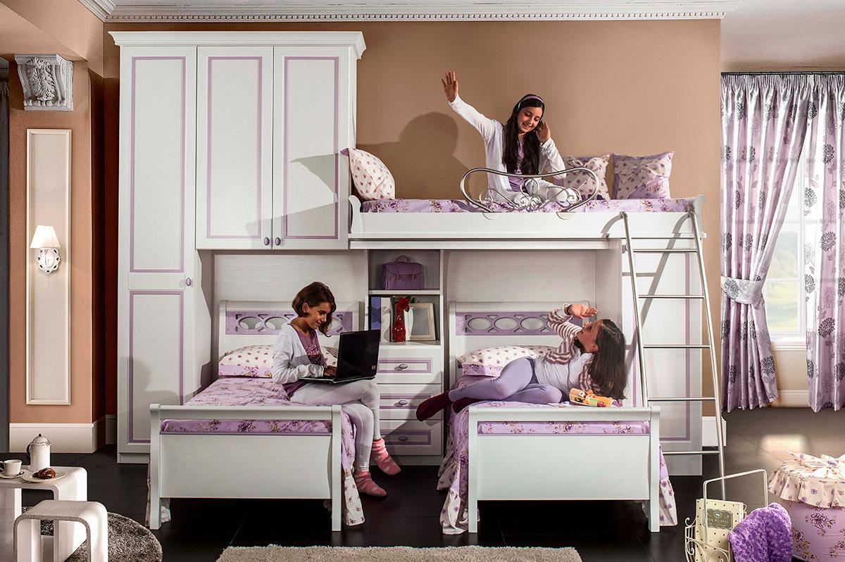 Arredamento camerette per bambini a pesaro urbino e fano for Camerette classiche